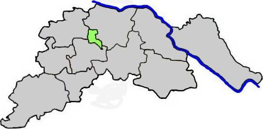 Adendorf im Landkreis Lüneburg - Karte