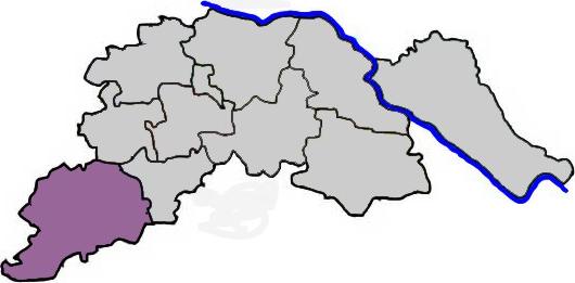 Amelinghausen im Landkreis Lüneburg - Karte