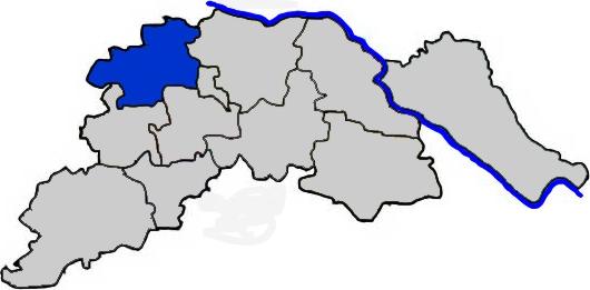 Bardowick im Landkreis Lüneburg - Karte