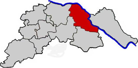 Bleckede im Landkreis Lüneburg - Karte