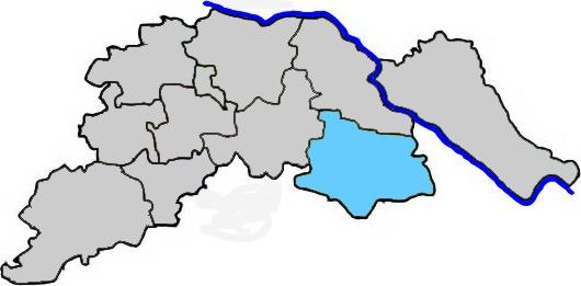 Dahlenburg im Landkreis Lüneburg - Karte