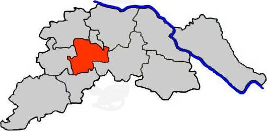 Lüneburg im Landkreis Lüneburg - Karte