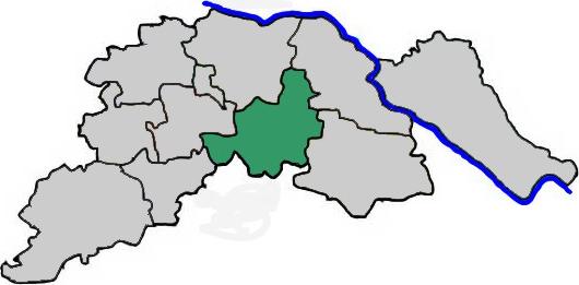 Ostheide im Landkreis Lüneburg - Karte