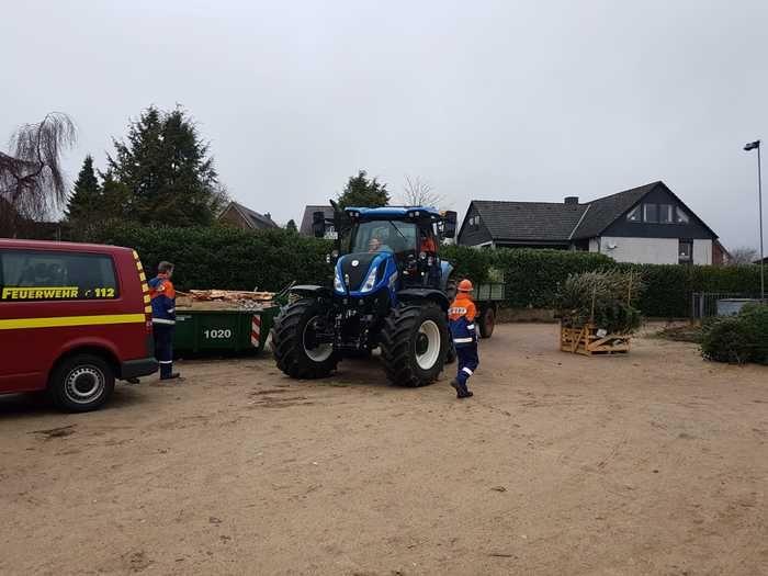 Tannenbaumverbrennen 2019 Amelinghausen