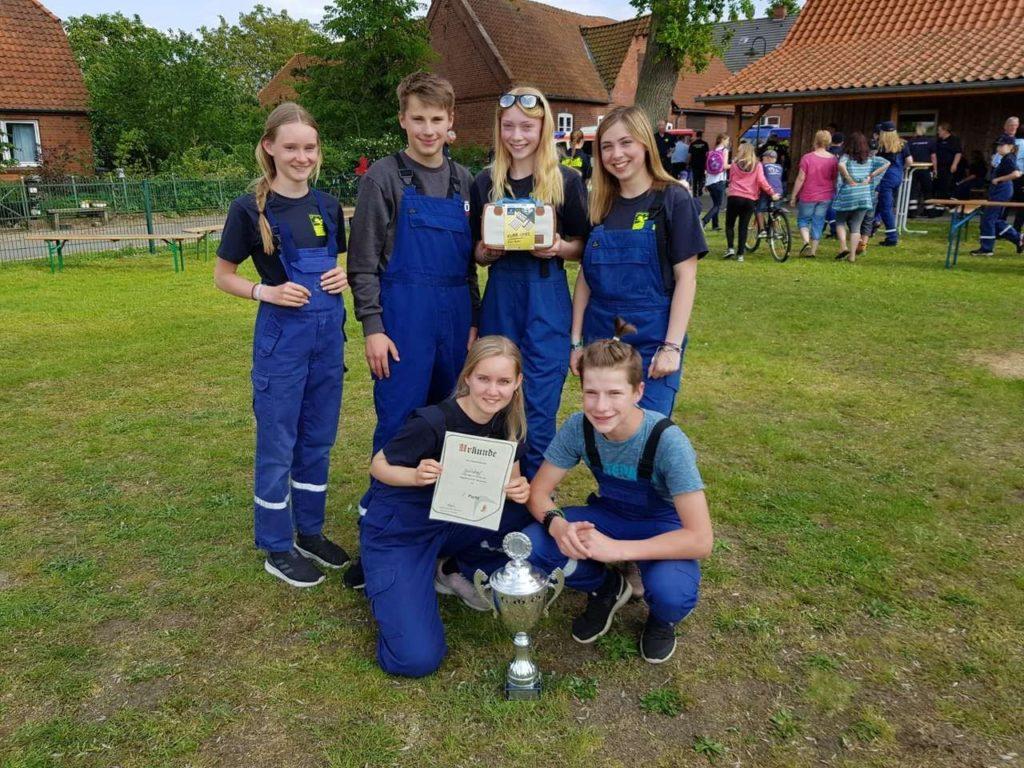 Sieger Jugendfeuerwehren – JF Garlstorf