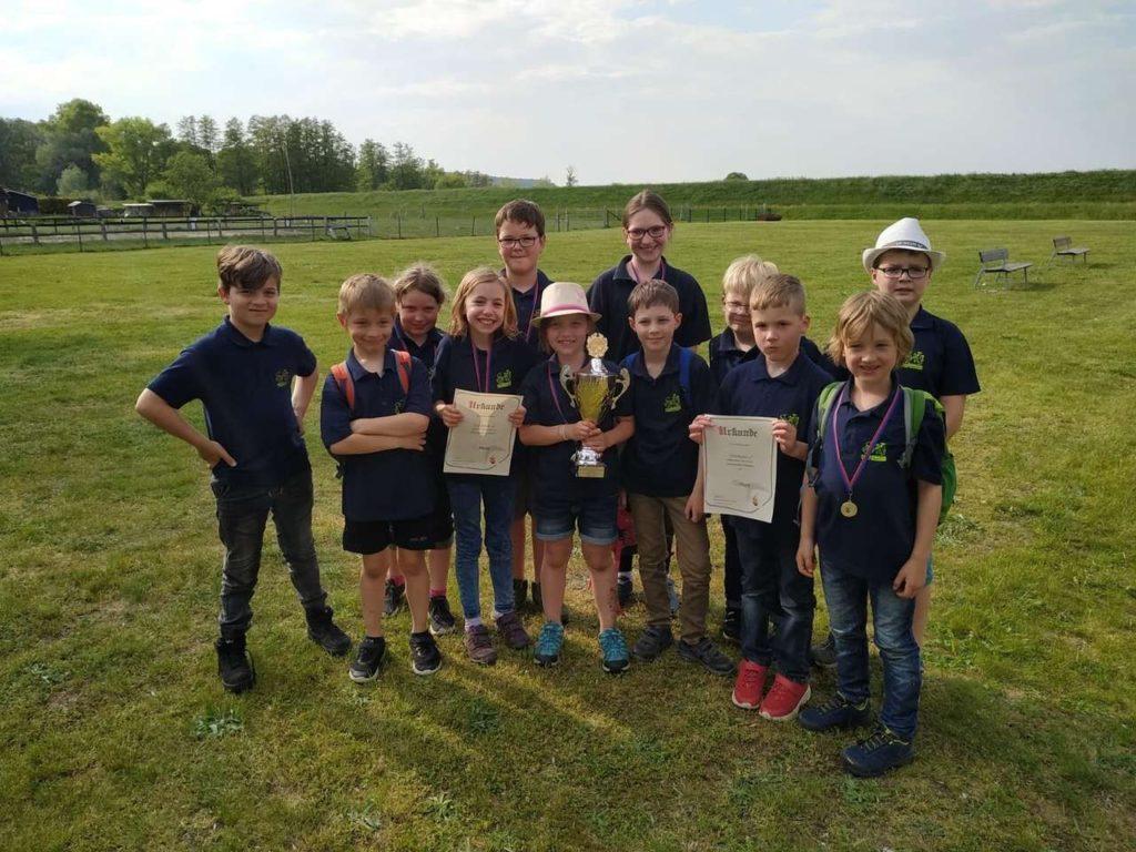 Sieger Kinderfeuerwehren – KF Bleckede 2